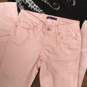 Baby Pink Super Skinny unworn- Rhinestone Pants